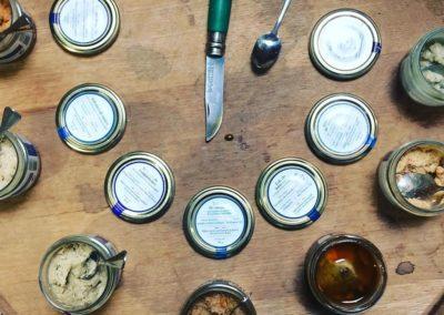 terrines de la conserverie Ambroisie