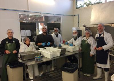 équipe de la conserverie ambroisie